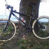 Mountain Bike Nespecificat, 19 inch, 26 inch, Aluminiu, Negru, MTB Full Suspension - Cannondale Scalpel