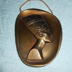 NEFERTITI TABLOU EGIPT METAL - Arta din Africa