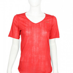 Tricou Reebok OTM Burnout Redtastic - Tricou dama Reebok, Marime: M, L, XL, XS/S, Culoare: Rosu