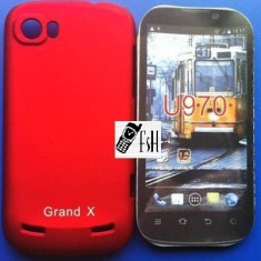 Husa ROSU Hybrid, FOLIE SI TRANSPORT GRATUIT - ZTE GRAND X IN