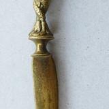 De colectie, Cutit de alama pentru deschis scrisori