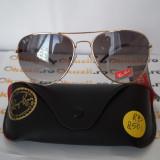 Ochelari de soare RayBan RB8501, Unisex, Verde, Pilot, Metal