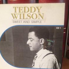 Muzica Jazz Altele, CD - TEDDY WILSON - SWEET AND SIMPLE (2002) cd nou/sigilat