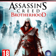 ASSASSIN'S CREDD BROTHERHOOD PS3 - Jocuri PS3 Ubisoft, Actiune, 18+, Multiplayer