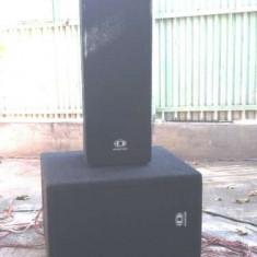 2 cutii bas Tham12 - Amplificator studio