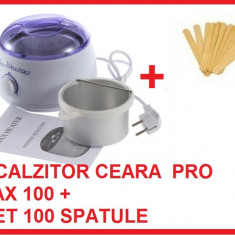 Produse epilare - DECANTOR CEARA PRO WAX 100 - incalzitor ceara traditionala, aparat de epilat, epilare, parafina, aparat pentru incalzit ceara