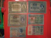 AUSTRIA - GERMANY - HUNGARY - LOT 18 BANCNOTE DE COLECTIE - 1902 - 1933 foto