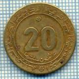 3743 MONEDA - ALGERIA - 20 CENTIMES - anul 1975 -starea care se vede