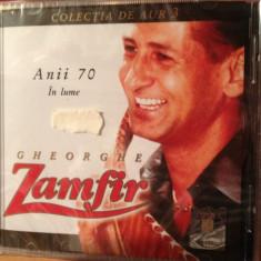 GHEORGHE ZAMFIR -ANII 70 IN LUME (A & A REC.- CD NOU, SIGILAT) - Muzica Populara a&a records romania