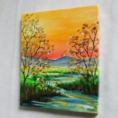 Peisaj 2. Pictura in ulei pe panza