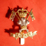 Insigna Militara Anglia -tip ac cravata, marcata, Birmingham Dowler
