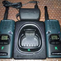 Statie radio - Pereche statii emisie receptie Motorola HandiePro euro 446 Type PG531EA PROFESIONALE !
