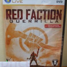 Red Faction: Guerrilla (PC DVD) SIGILAT!!! (ALVio) + sute de Jocuri PC Thq, Shooting, 16+