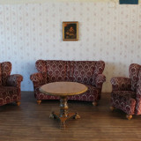 Salon retro, stil Rococo, aprox 1950. - Mobilier