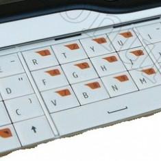 Tastatura telefon mobil - Tastatura Nokia 6760 Slide QWERTY ALBA Originala