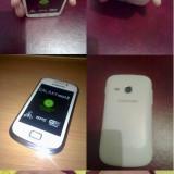 Samsung Galaxy Mini 2 S6500 - Telefon mobil Samsung Galaxy Mini 2, Alb, Neblocat
