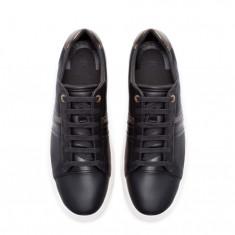 Tenesi Zara Originali - Adidasi barbati Zara, Culoare: Negru, Marime: 43, Negru, Piele sintetica