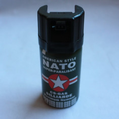 Spray Paralizant Original Nato CS Gas Made in Germany 40 ML ( American Style )