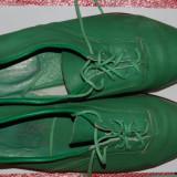 Pantofi barbati vintage verzi primavara marimea 43 culoarea verde trendy chic colorati