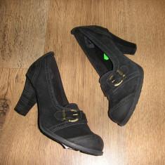 OFERTA! Pantofi Timberland Earth Keepers ORIGINALI piele foarte comozi Sz 37, 5 - Pantof dama Timberland, Culoare: Negru, Piele naturala