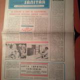 Ziarul muncitorul sanitar 16 august 1980
