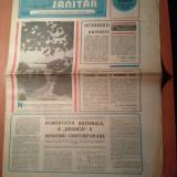 Ziarul muncitorul sanitar 2 august 1980