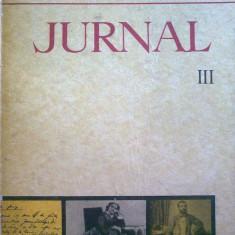 Roman - Titu Maiorescu - Jurnal si epistolar vol. III