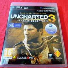 Jocuri PS3 Sony, Actiune, 18+, Single player - Joc Uncharted 3 GOTY Edition, exclusiv PS3, original, 39.99 lei(gamestore)!