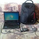 Laptop Ultrabook Lenovo Thinkpad x220 cu SSD 120 si 8GB RAM - Laptop Lenovo, Intel 3rd gen Core i5, 2001-2500 Mhz, Sub 15 inch