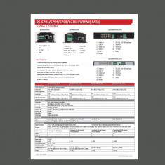DVR - Video server/ encoder DS-6700 HWI - HIKVISION 4 canale - DVD Recordere
