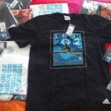 Tricou ADIDAS original SUPER PRET - Tricou barbati Adams, Marime: S, L, XL, XXL, Culoare: Alb, Negru