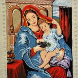 Goblen Madona cu marama 17.5x21.5 cm, 21 culori