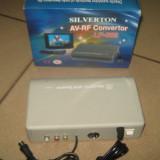 Modulator audio/video, stereo - LF-003 ( amplifica semnalul video pentru transmiterea la distante de pana la 300 m.) - Modulator FM auto