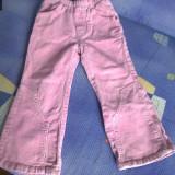 Haine Copii 1 - 3 ani, Pantaloni, 98 (3 ani, inaltime 93-98 cm), Roz - Pantaloni raiat fetite