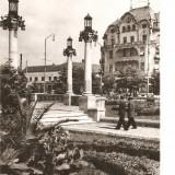 Carti Postale Romania dupa 1918, Circulata, Fotografie - CPI (B2915) ORADEA, COMBINATUL POLIGRAFIC CASA SCANTEII, CIRCULATA, 1968, STAMPILE, TIMBRE, RPR
