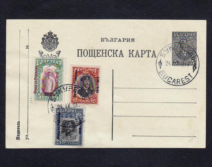 Romania 1917 - Ocupatia Bulgara foto mare