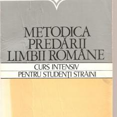 Carti de stiinta - (C4180) METODICA PREDARII LIMBII ROMANE, CURS INTENSIV PENTRU STUDENTI STRAINI DE VASILE SERBAN SI LILIANA ARDELEANU, EDP, 1980