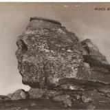 Carti Postale Romania dupa 1918, Necirculata, Fotografie - CPI (B2947) MUNTII BUCEGI, SFINXUL, COMBINATUL POLIGRAFIC CASA SCANTEII, NECIRCULATA, RPR