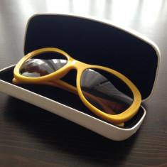 OCHELARI: D&G 8083 Sunglasses Yellow / Galbeni - Ochelari de soare D&G, Femei, Maro, Plastic