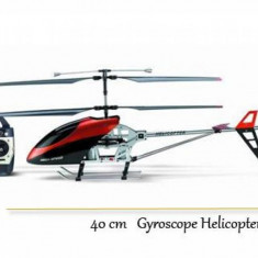 Elicopter de jucarie, Metal, Unisex - PROMOTIE! ELICOPTER PROFESIONAL 3.5CANALE+GIROSCOP, METAL, 40 CM, FULL CONTROL, MODEL 2013.