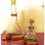 Sticlute de mir si vin pentru botez