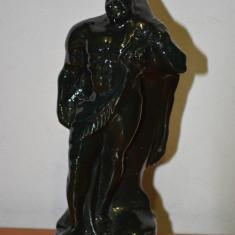 STATUETA HERCULES 1 PORTELAN EMAILAT - sculptura reproducere