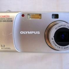 Aparat foto compact digital Olympus Camedia D-540 - Aparat Foto compact Olympus, Sub 5 Mpx, 3x, Sub 2.4 inch