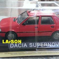 Macheta auto, 1:43 - Macheta metal DeAgostini Dacia SuperNova SIGILATA + revista Masini de Legenda 45