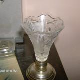Vaza cristal talpa argint nr 3, Vas