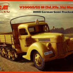 + Macheta 1/35 ICM 35412 - Ford V3000S/SS M Sd.Kfz.3b Maultier + - Macheta auto