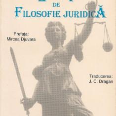 Giorgio Del Vecchio - Lectii de Filosofie Juridica