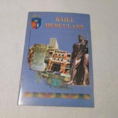 BAILE HERCULANE-PROMOVARE TURISTICA - Harta Turistica