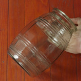 Borcan vechi - sticla - piesa de colectie