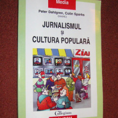 Peter Dahlgren, Colin Sparks - Jurnalismul si cultura populara - Carte de publicitate